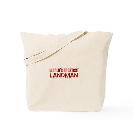 World's Greatest Landman Tote Bag