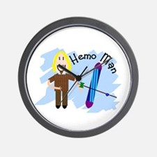 Funny Dialysis patient Wall Clock