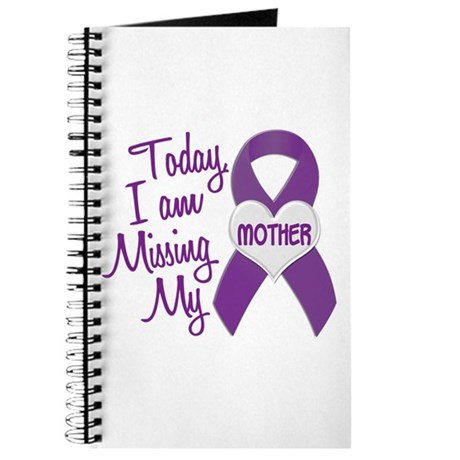 Missing My Mother 1 PURPLE Journal