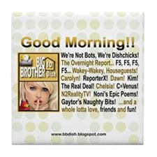 Good Morning! Tile Coaster