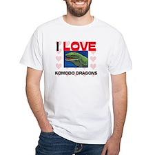 I Love Komodo Dragons Shirt