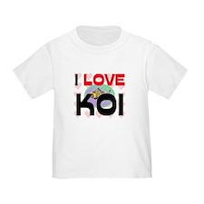 I Love Koi T
