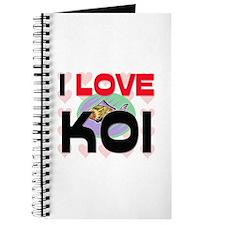 I Love Koi Journal