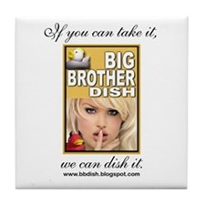 Big Brother Dish Tile Coaster