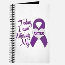 Missing My Sister 1 PURPLE Journal