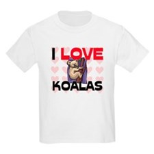 I Love Koalas T-Shirt