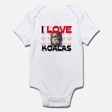 I Love Koalas Infant Bodysuit