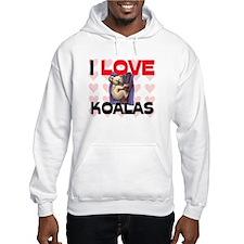 I Love Koalas Hoodie