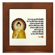 Buddha Buddhism Quotes Framed Tile