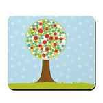 Alfresco Christmas Tree Mousepad