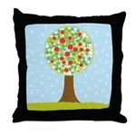 Alfresco Christmas Tree Throw Pillow