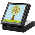 Alfresco Christmas Tree Keepsake Box
