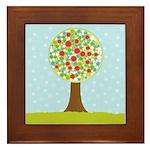 Alfresco Christmas Tree Framed Tile
