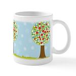 Alfresco Christmas Tree Ceramic Coffee Mug