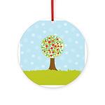 Alfresco Christmas Tree Ornament (Round)