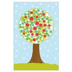 Alfresco Christmas Tree Posters