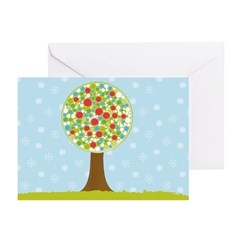 Alfresco Christmas Tree Greeting Cards (Pk of 20)