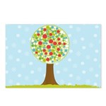 Alfresco Christmas Tree Postcards (Package of 8)