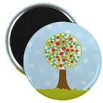 """Alfresco Christmas Tree 2.25"""" Magnet (10 pack)"""