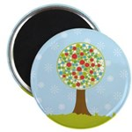 Alfresco Christmas Tree Magnet