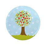 """Alfresco Christmas Tree 3.5"""" Button"""
