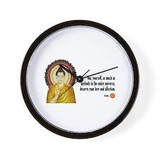 Buddha Buddhism Quotes Wall Clock