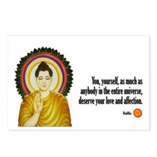 Buddha Buddhism Quotes Postcards (Package of 8)