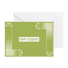 Savvy Green Holidays Greeting Cards (Pk of 20)