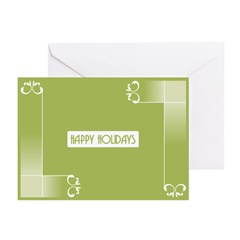 Savvy Green Holidays Greeting Cards (Pk of 20)