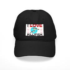 I Love Killifish Baseball Hat