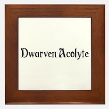Dwarven Acolyte Framed Tile