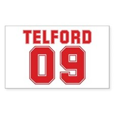 TELFORD 09 Rectangle Decal