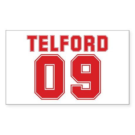 TELFORD 09 Rectangle Sticker 10 pk)
