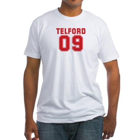 TELFORD 09 Fitted T-Shirt
