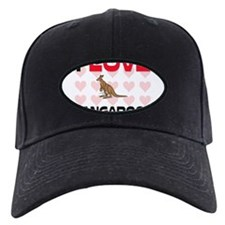 I Love Kangaroos Baseball Hat