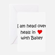 Unique Bailey Greeting Card