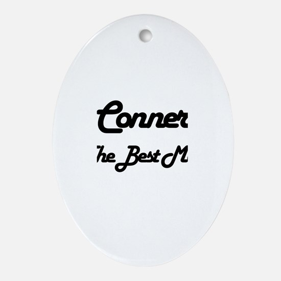 Conner - The Best Man Oval Ornament