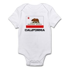 California Flag Infant Bodysuit