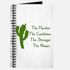 Harsh Conditions Strong Woman Journal