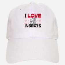 I Love Insects Baseball Baseball Cap