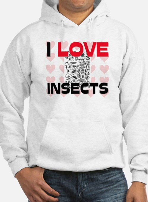 I Love Insects Hoodie
