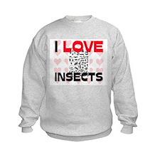 I Love Insects Sweatshirt