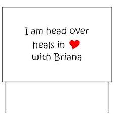 Briana Yard Sign