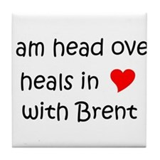 Cute Brent Tile Coaster