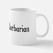Dwarven Barbarian Mug