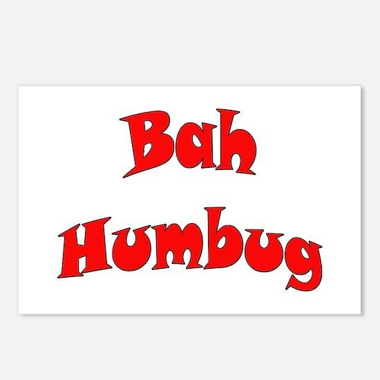 Bah Humbug! Postcards (Package of 8)
