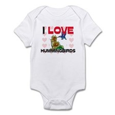 I Love Hummingbirds Infant Bodysuit