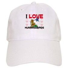 I Love Hummingbirds Cap