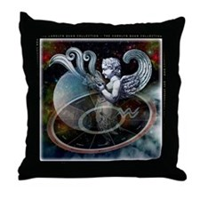 Aquarius Zodiac Throw Pillow