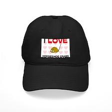 I Love Horseshoe Crabs Baseball Hat